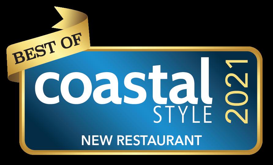 Best of Coastal Style 2021 - New Restaurant